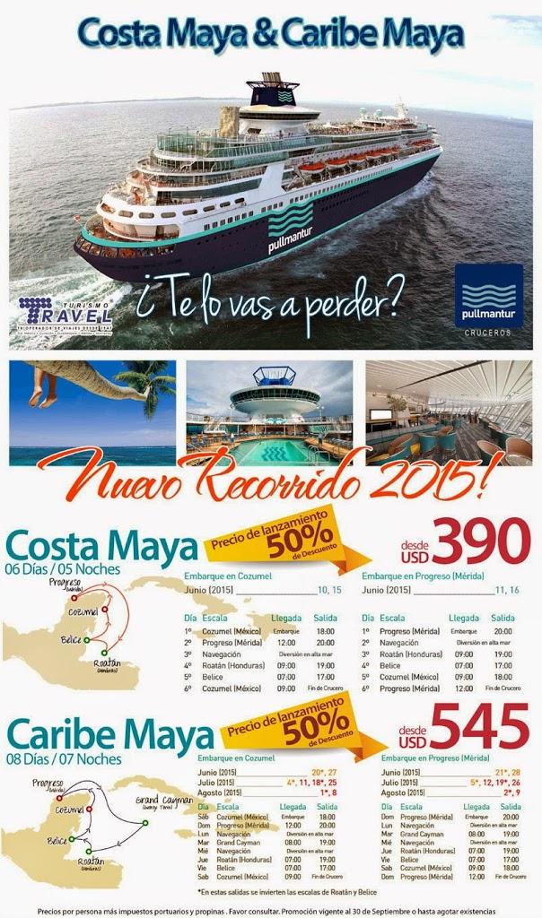 crucero costa maya y caribe mexicano